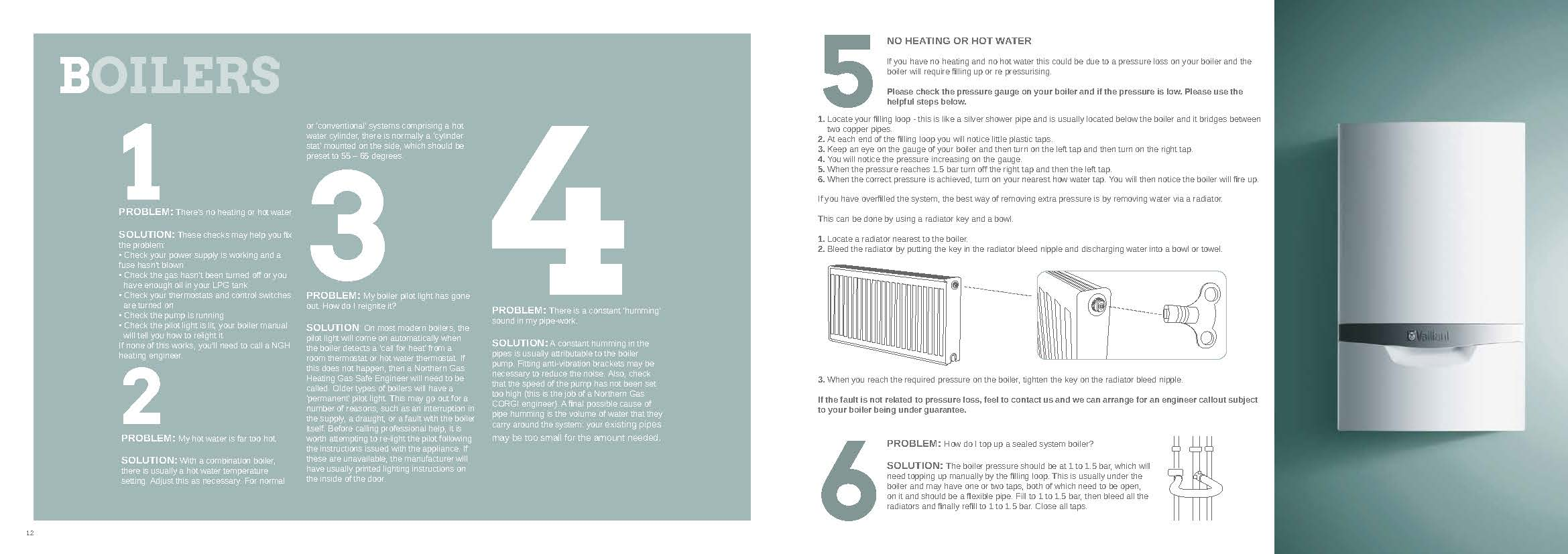 Gas Heating: Northern Gas Heating Free Boiler
